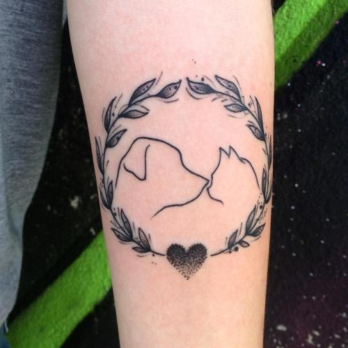 Pet love tattoo by Rodrigo Assi