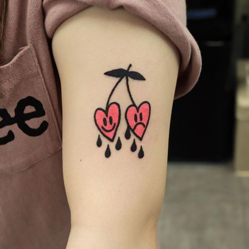 Heart tattoo from Puff Channel