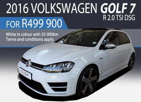 2016 VOLKSWAGEN GOLF 7 R 2.0 TSI DSG Price R499 900