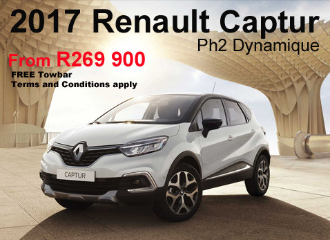 2017 Renault Captur Ph2 Dynamique From Only R269 900