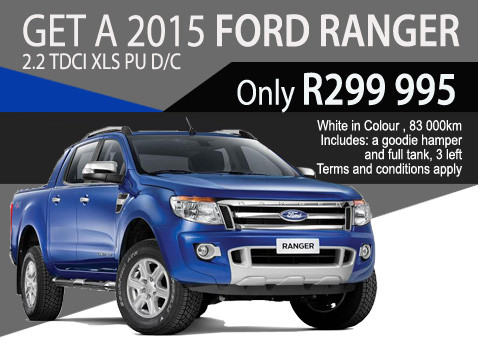 2015 Ford Ranger 2.2 TDCi XLS Double cab special