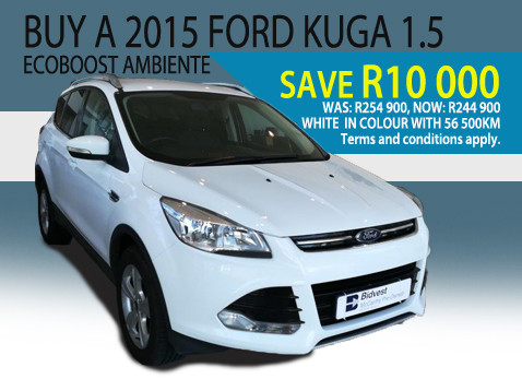 2015 Ford Kuga 1.5 Ecoboost Ambiente - Save R10 000