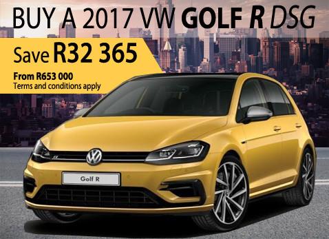 2017 VW Golf R DSG - Save R32 365