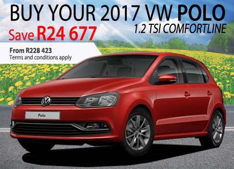 2017 VW Polo 1.2 TSi Comfortline - Save R24 677
