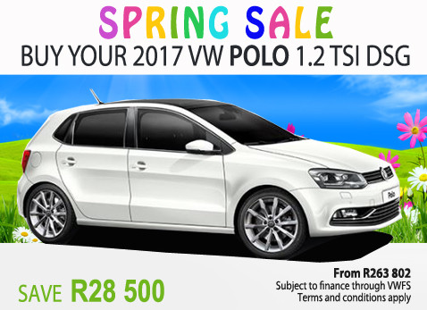2017 VW Polo 1.2 Tsi - Save R28 500