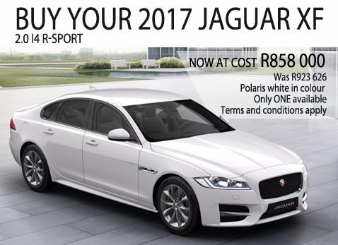 2017 JAGUAR XF 2.0 I4 R-SPORT