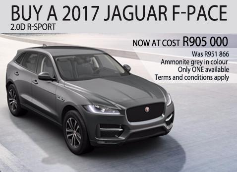 2017 JAGUAR F-PACE 2.0D R-SPORT