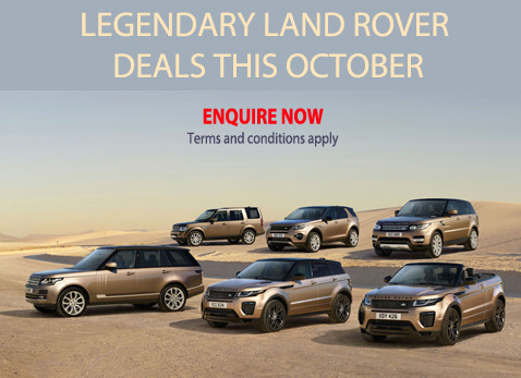LEGENDARY LAND ROVER DEALS THIS OCTOBER / NOVEMBER