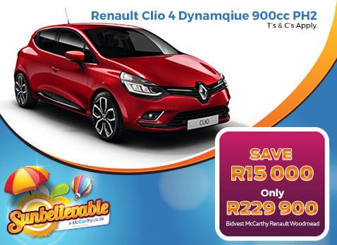 2017 RENAULT CLIO 4 DYNAMIQUE 900CC PH2 - Save R15 000