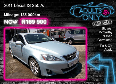 2011 LEXUS IS 250 A/T special