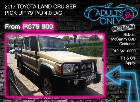 2017 TOYOTA LAND CRUISER PICK UP 79 P/U 4.0 D/C special