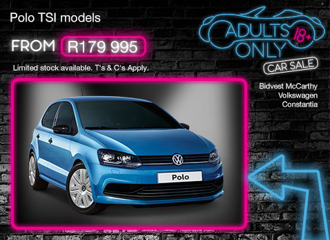 Volkswagen POLO TSI MODELS from R179 995