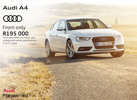 AUDI A4 From Only R195 000
