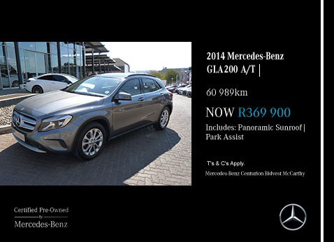 Used 2014 MERCEDES-BENZ GLA200 A/T