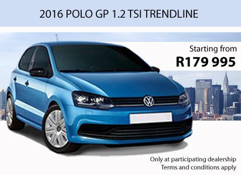 2016 VW POLO GP 1.2 TSI TRENDLINE