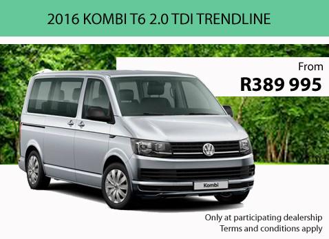2016 KOMBI T6 2.0 TDI TRENDLINE special