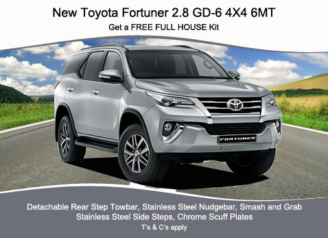 NEW TOYOTA FORTUNER 2.8 GD-6 4X4 6MT