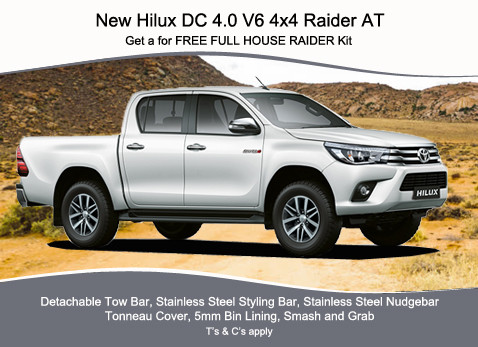 NEW HILUX DC 4.0 V6 4X4 RAIDER AT