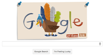 Thanksgiving Doodle with Google+