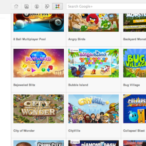 Google+ games changes and new features added