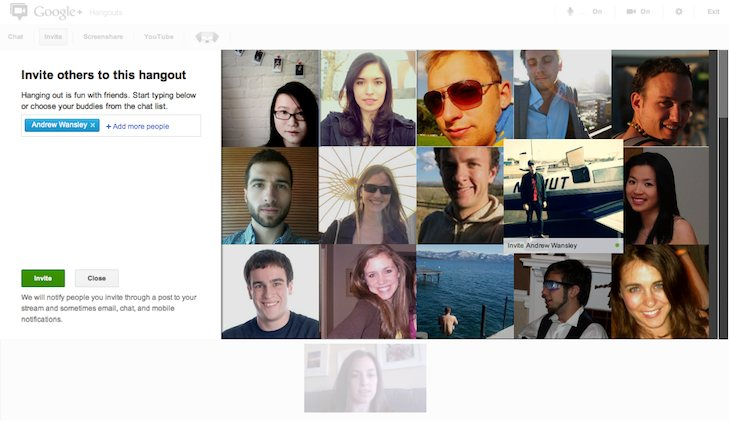 Now Invite Friends or People From Circles by Their Online / Offline Status in Google+ Hangouts