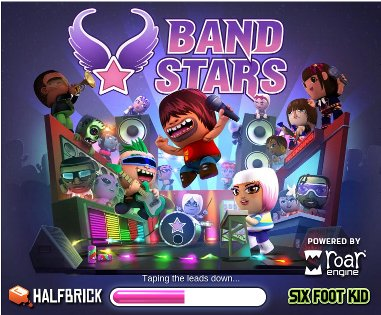Play music rockstar game on google+ social games