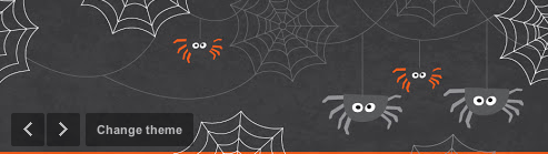 Schedule Halloween Events With Seasonal Google+ Halloween Themes!