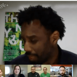 starbucks global month of service 2013 hangout video