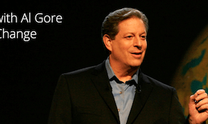 al gore google+ hangout on air climate change
