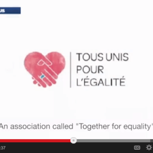 Gay marriage video via Google+ hangouts
