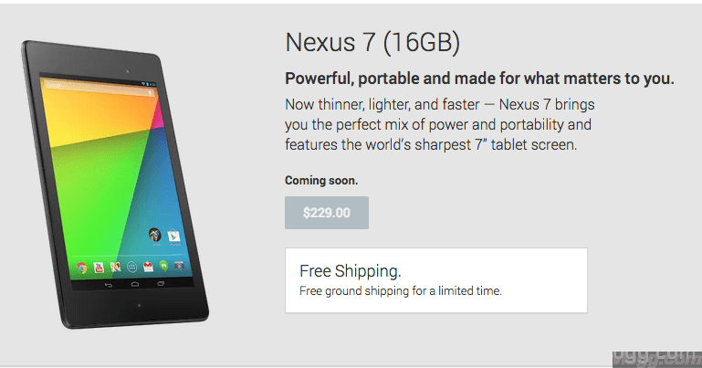 New Nexus 7 FHD Tablet With Android 4.3 Available in Other Stores!