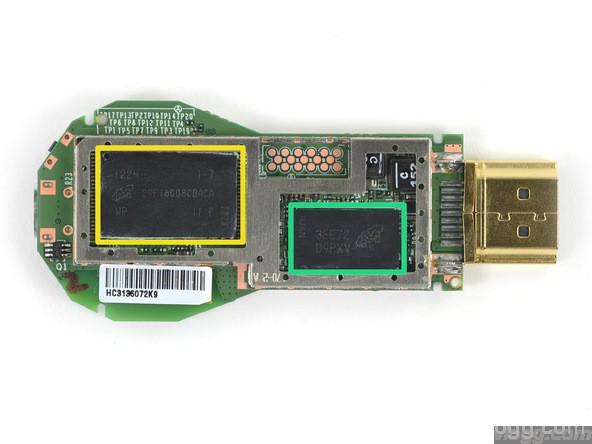 Google Chromecast Teardown of parts