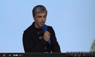 Larry Page Q&A at Zeitgeist Americas 2013 Video
