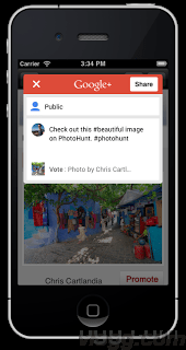 Google+ iOS SDK 1.4.0 released with in-app share and ID token support