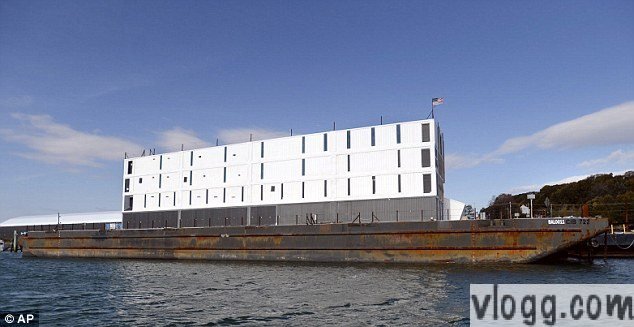 Google Floating Barge Interactive Space Built around San Francisco Bay Area