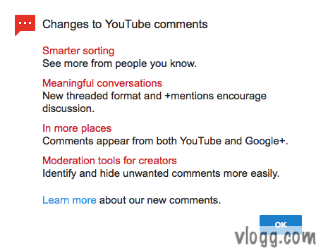 YouTube Google+ Comments Introduces New Tools to Combat Spam