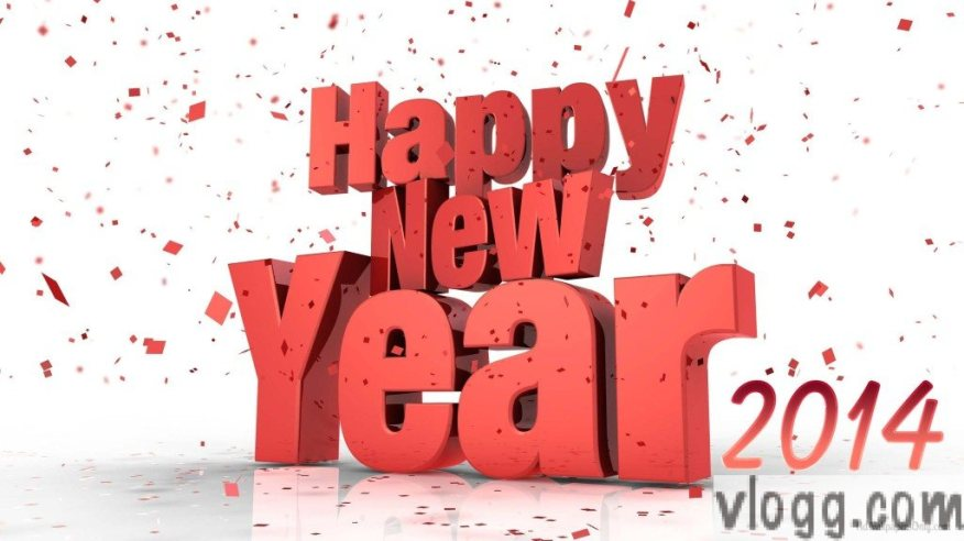 Happy New Year 2014 Greetings from vlogg.com [Images: HDWallpapersOnly.com]