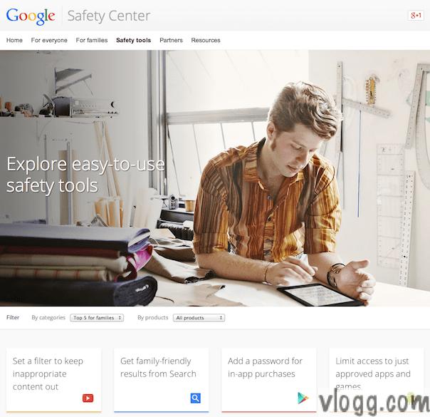 Safer Internet Day 2014 and Google Safety Tools [Images: vlogg.com]