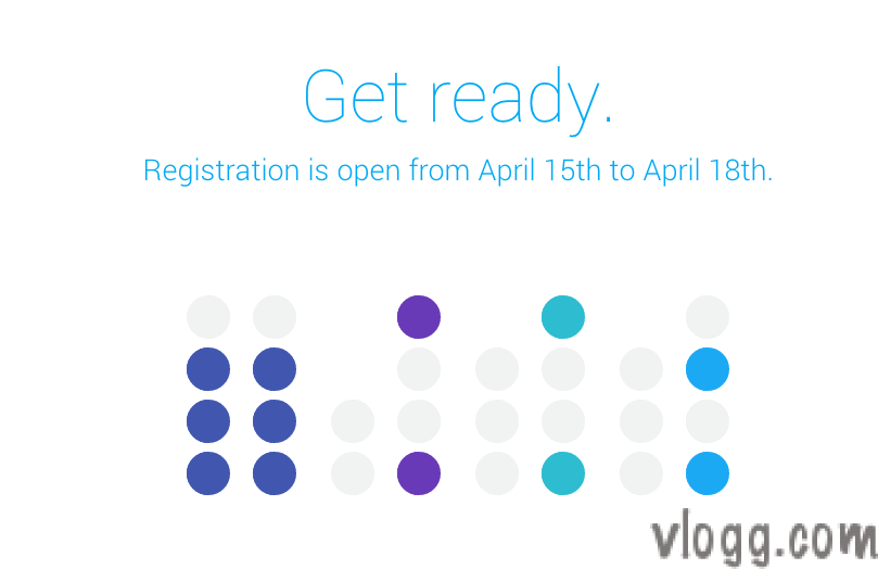 Google I/O 2014 registration dates changed