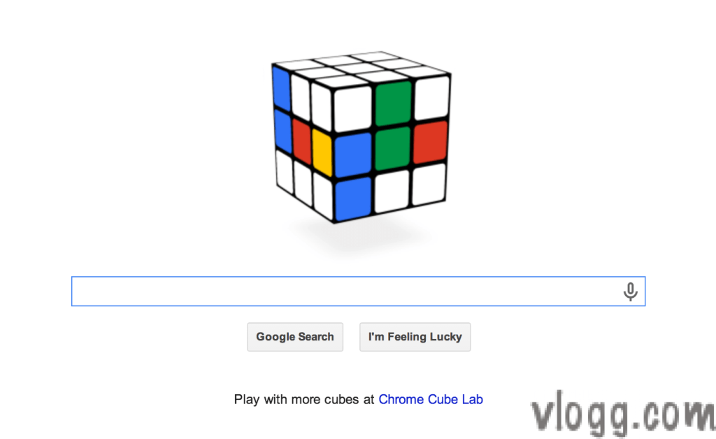 Google Doodle Today Honors Rubik's Cube 40th Aniversary