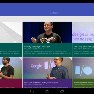 Google I/O 2014 Android App Released