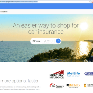Google Auto Insurance Free Quote Tool