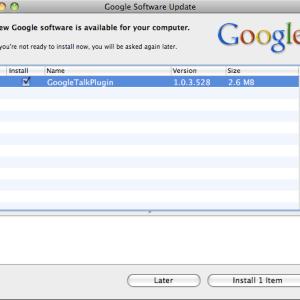 Uninstall Google Software Update on Mac
