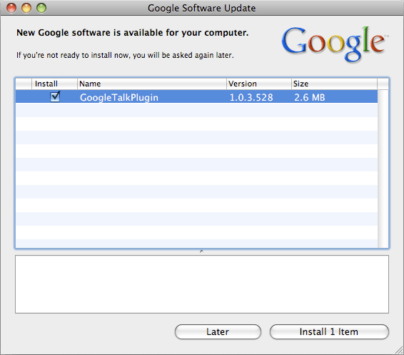 Uninstall Google Software Update on Mac