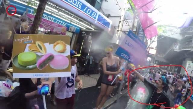 สงกรานต์ 2015 Songkran Thailand 2015 [ GoPro Hero 4 ]