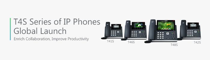 Yealink T4S Series of IP Phones