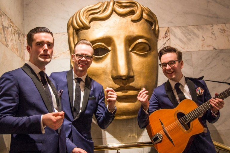 Wandering Soul performing at BAFTA House!