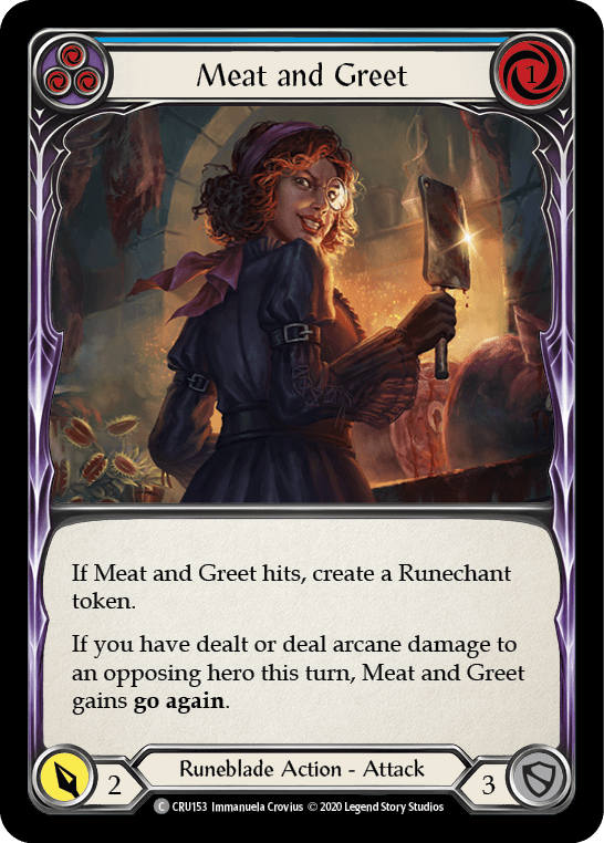 Meat and Greet (Blue)