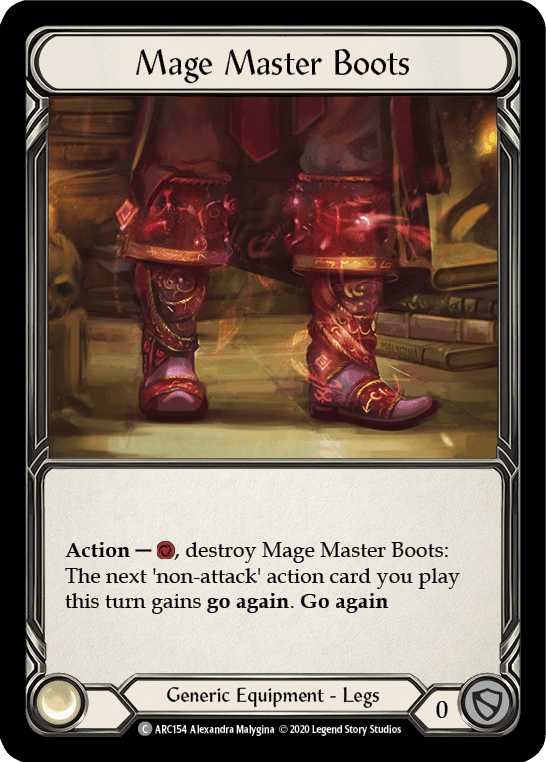 Mage Master Boots