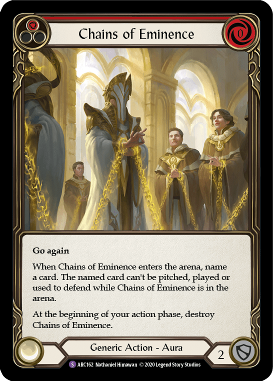 Chains of Eminence